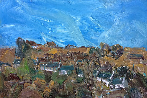 South Row Mid-October by Stuart Buchanan