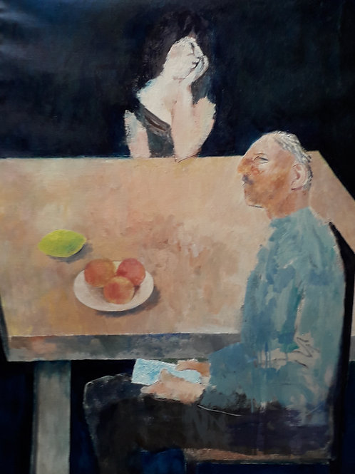 Peaches and a Lemon by Richard Sorrell