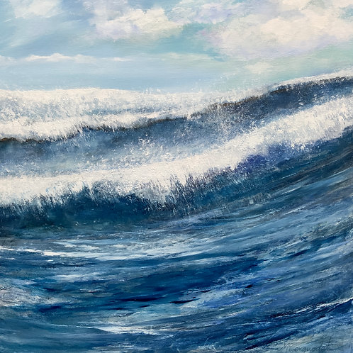Ocean Light by Lizzie McCorquodale