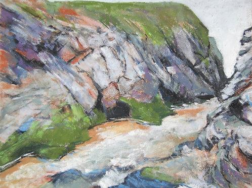 Holywell Bay 1 by Patricia Mattock