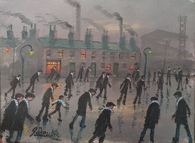 Wet Day for the Match (Memories of Man City in the 50s) - James Downie (1949 - )