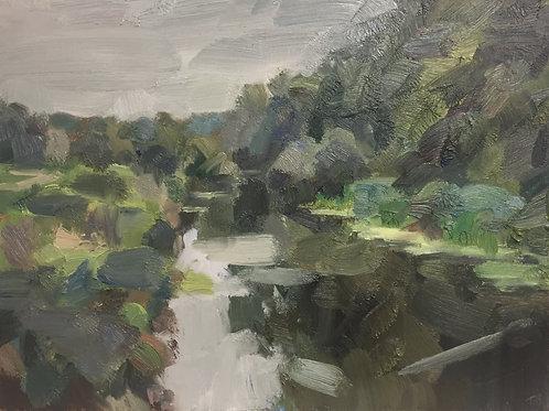 Summer stream by Tim Benson
