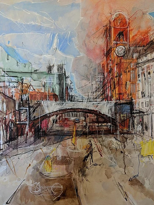 Oxford Road by Steven Royles