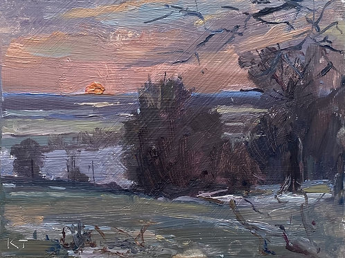Winter Sunrise 1 by Karl Terry