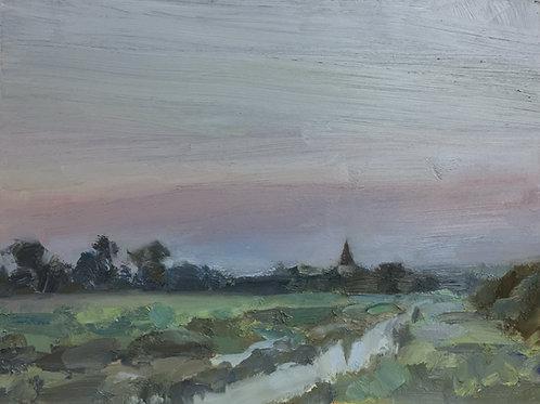 Dusk creek by Tim Benson