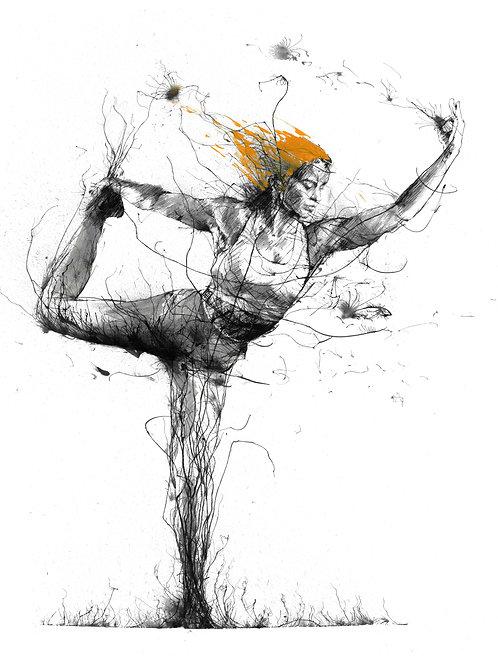 King Dancer (Original) by Scott Tetlow