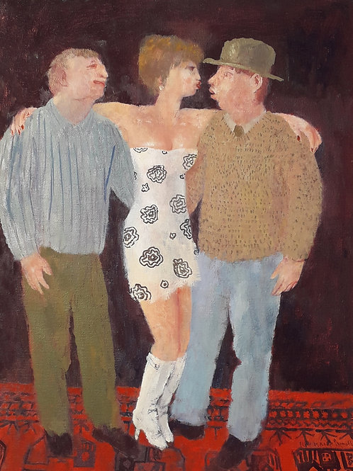 A Woman and Two Men by Richard Sorrell