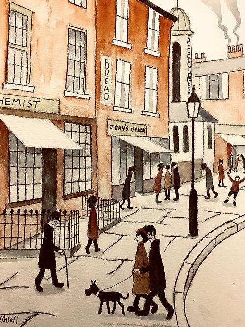 High Street Aylesbury by David J Ansell