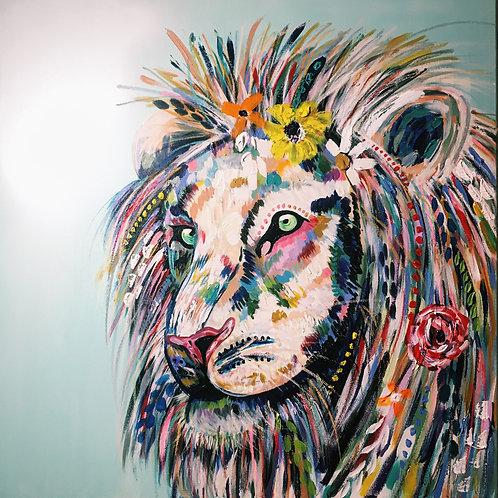 Savana Lion