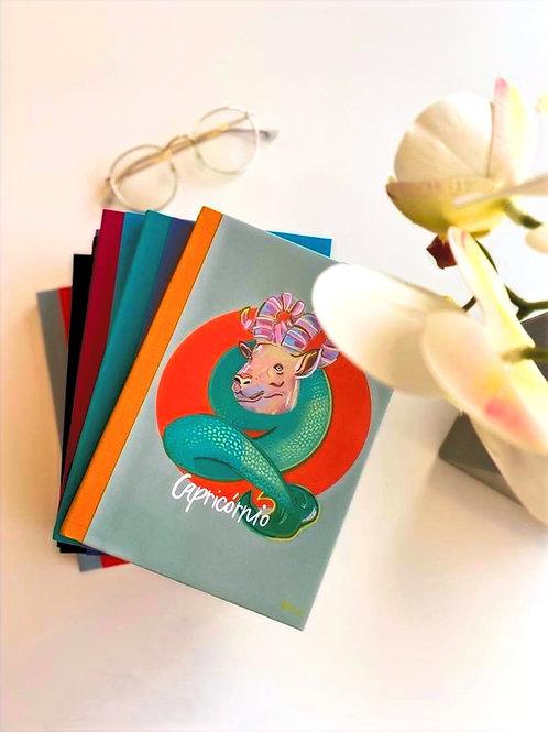 Caderno Capricornio