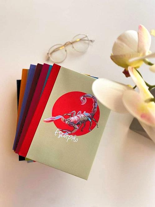 Caderno Escorpião