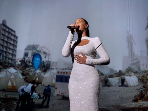 BEHIND THE SCENES,  BEYONCE AT THE UNITED NATIONS