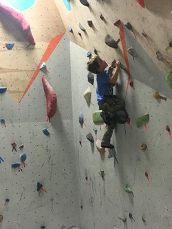 Field trip to the rock wall.