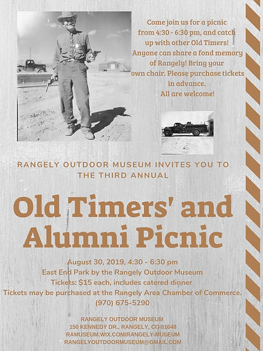 Copy of Rangely Outdoor museum invites y