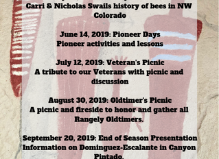 2019 Museum Fireside Schedule