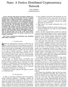 Whitepaper de criptomoedas