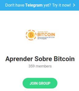 grupo aprender sobre bitcoin