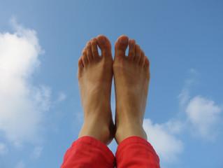Con los pies bien puestos en el cielo...