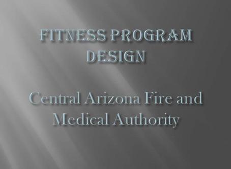 Fitness Program Design
