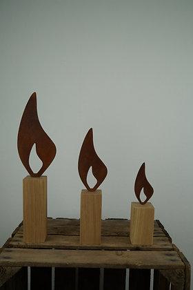"""Flammen Edelrost """"Lio"""""""