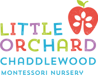 Little Orchard chaddlewood identity cmyk