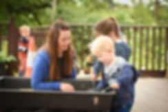 Early Years Activity at Little Orchard Montessori Website