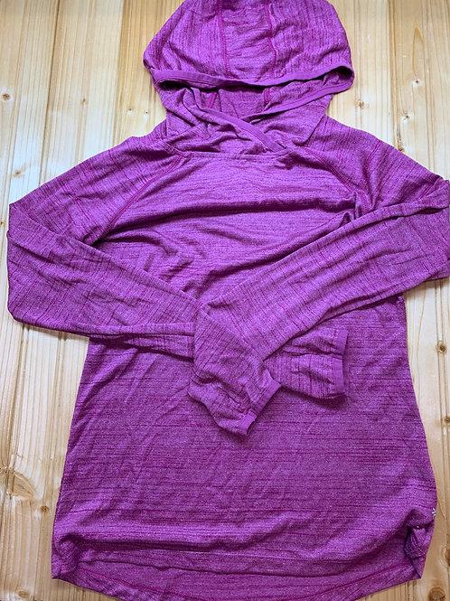 Size XS REEBOK Purplish Pink Hoodie Shirt