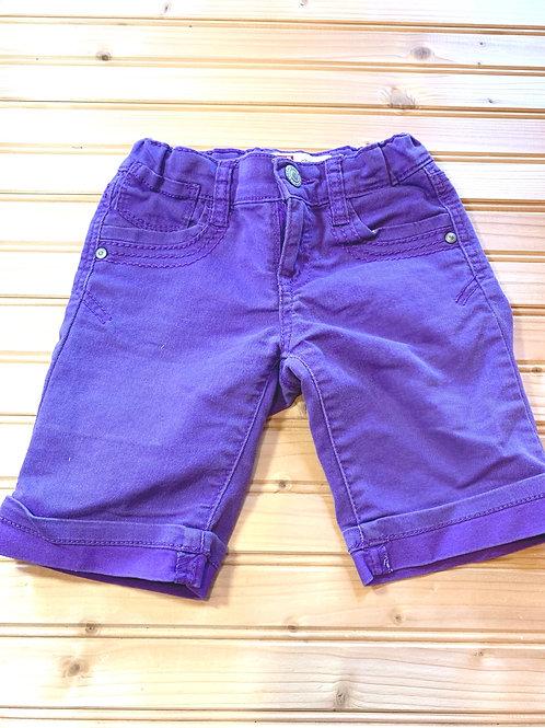 Size 6 LEI Chelsea Lowrise Purple Shorts, Used
