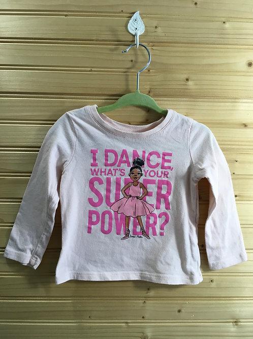 Size 12-18m CHILDREN'S PLACE I Dance Shirt