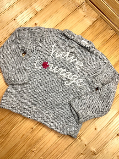 Size 2T GYMBOREE Knit Courage Sweater