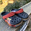 Size 7 Toddler CROCS Lightning McQueen Shoes