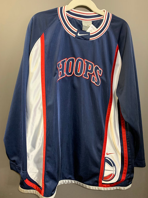 Size 14/16 Youth NIKE Hoops Long Sleeve Jersey