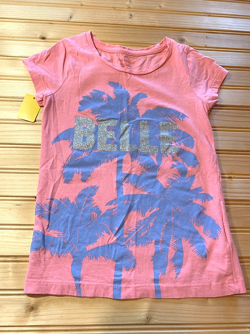 Size 6/7 JOE FRESH Pink Belle Shirt, Used