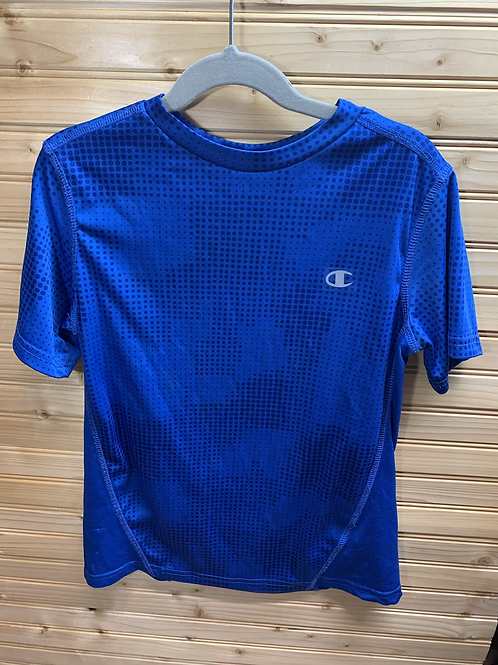 Size 10/12 CHAMPION Blue Sport Shirt
