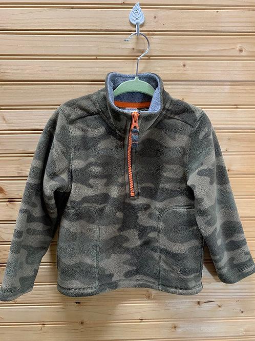 Size 2T CARTER'S Camo Fleece, Used