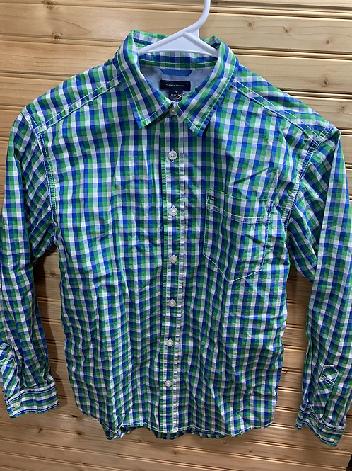 Size 12/14 TOMMY HILFIGER Check Shirt