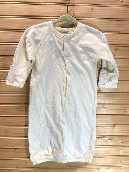 Size 0-3m Cream Colored Open PJ