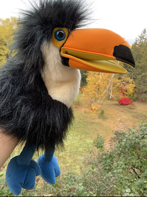 THE PUPPET COMPANY Squeaking Toucan Puppet
