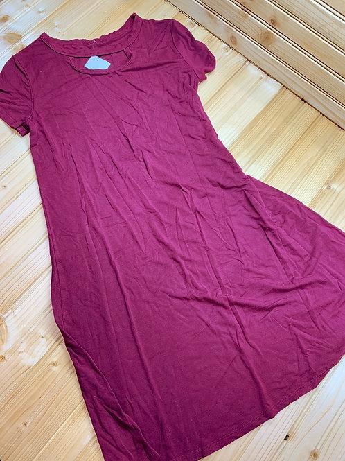 Size 10/12 ART CLASS Burgundy Dress