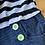 Size 12 Girls Striped Jumper