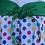 Thumbnail: Size 6/7 Polkadot Party Dress, Used
