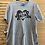 Thumbnail: Size L Men's GOING TO BE DADDY Grey Tee, New