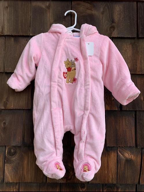 Size 0-3m DISNEY Soft Pooh Bear Bunting