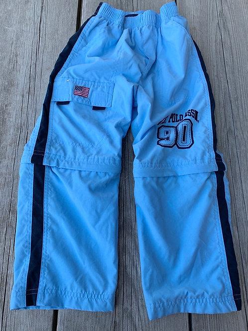 Size 5 US POLO Blue Sport Pant/Zip Short