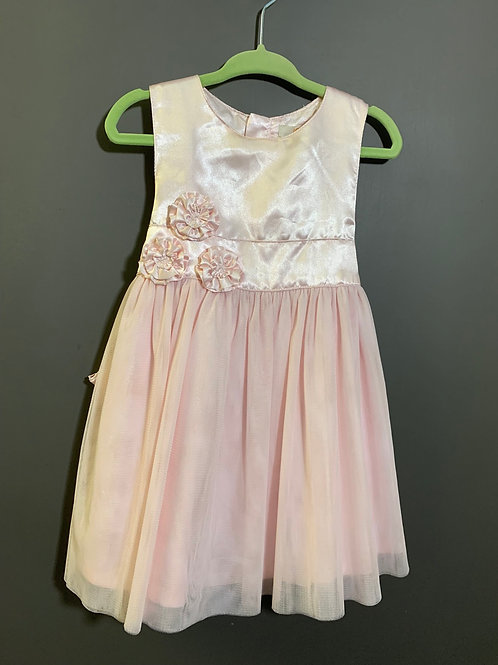 Size 18-24m JOE FRESH Pale Pink Shimmering Dress