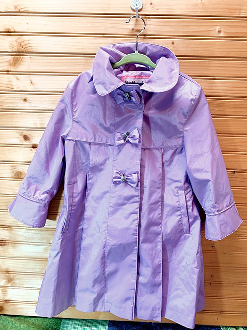Size 3T ROTHSCHILD Lavender Dress Coat, Used