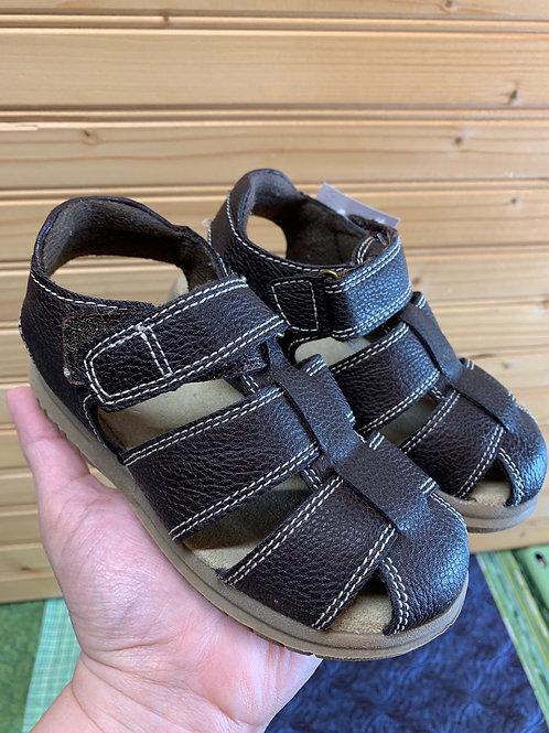 Size 9 Kids Brown Sandals