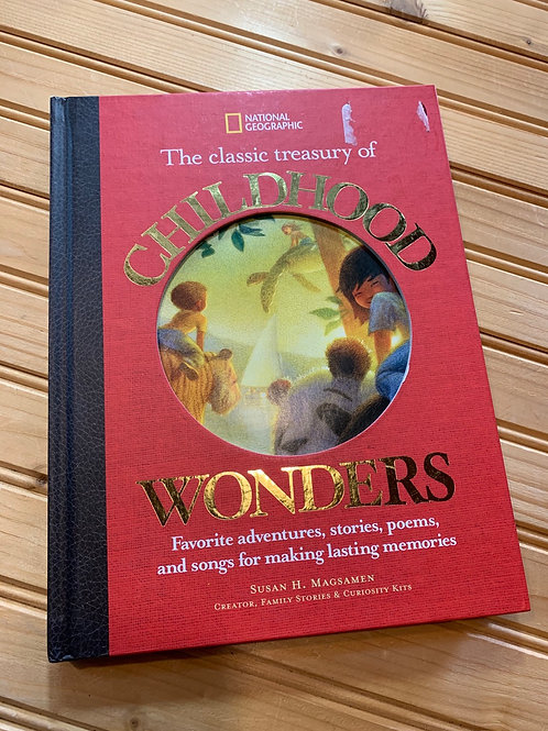 """Classic Treasury of CHILDHOOD WONDERS"" book front"