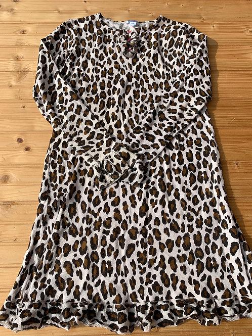 Size 14/16 Longsleeve Cheetah Dress