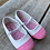 Size 6 Toddler GEORGE White and Pink Mary Janes